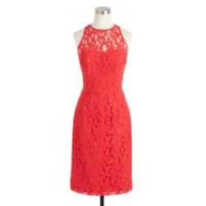 J CREW Collection Lace Sheath Dress